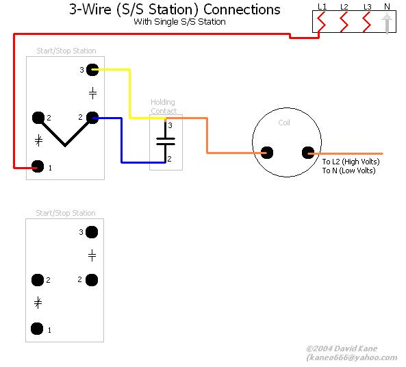 2wire Start Stop Station Wiring Diagram - Electrical Drawing Wiring ...